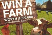 New Covent Garden Food: 'win a farm' competition
