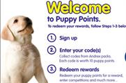 Andrex Puppy Points