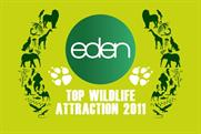 Eden TV: repeats top UK wildlife attraction campaign