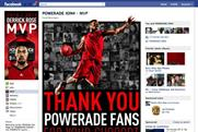 Powerade: Facebook work by Sapient Nitro