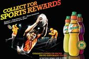 Gatorade: launches on-pack promotion