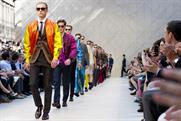 Burberry: one of the top five brands favoured by consumers spending more than £200 a month on fashion