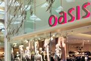 Oasis: one of the Aurora Fashions brands offering 90-minute delivery