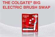Colgate: brush swap campaign goes online