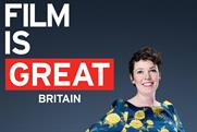 Olivia Coleman: Bafta winner features in campaign celebrating the UK film industry