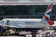 BA planes carry the slogan 'Keep the flag flying'