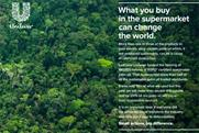 Unilever: promotes sustainable palm oil efforts