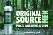 Original Source shower brand pushes men's range with new campaign