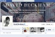 David Beckham: Facebook event promotes his book launch