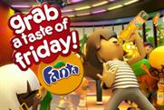 Fanta: grab a taste of Friday campaign