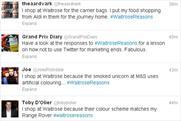 Waitrose: Twitter backlash