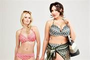 Debenhams: using size 18 swimwear model