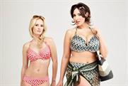 Debenhams: using size 18 swimwear model