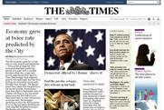 The Times: online site suffers declining readership