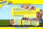 Nesquik: website backs latest initiative
