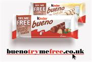 Kinder Bueno: chocolate brand offers 5.5 million products in try me free promotion