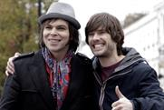 Toyota: TV ad features former Supergrass singer Gaz Coombes, above, left