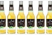 Carling Zest: citrus beer from the Molson Coors brand