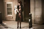 M&S: Helena Bonham Carter in her first ever advertising role