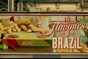 KFC 'Flavours of Brazil' campaign