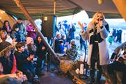 Pixie Lott: serenaded 250 guests at Land Rover's #Hibernot event in North Yorkshire