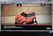 Mini: launches UK push in its global campaign