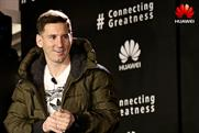 Lionel Messi has signed up as Huawei brand ambassador