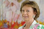 Neelie Kroes, vice president of the European Commission