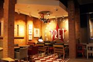 Pret stores are offering what is being hailed as 'free flirt whites'