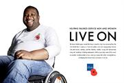 The Royal British Legion: posters and print ads highlight charity's continuing support of armed forces community