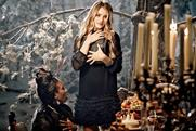 M&S: Rosie Huntington-Whitely stars in retailer's Christmas ad
