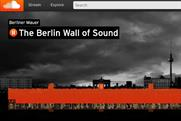 SoundCloud: 'The Berlin Wall of Sound' sound-wave