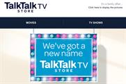 TalkTalk TV Store: the new name for Blinkbox