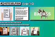 #VoteSelfish: runs General Election campaign