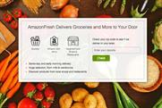 Amazon: finally launches UK trial of fresh food delivery