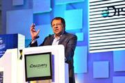 Diageo's Anand Kripalu spoke at the event