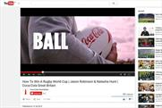 Coca-Cola: the brand's UK YouTube channel