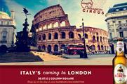 Birra Moretti: experiential brings Tuscany to London's Soho