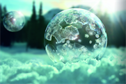 Sony Europe: the latest Bravia TV ad features images of iced bubbles