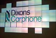 Dixons Carphone: the newly merged group announced a 4% boost in electrical sales