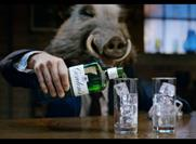 Watch: Gordon's Gin debuts Gordon the Boar character on Christmas Eve