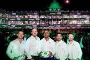 Heineken transforms London landmark into a virtual rugby stadium to celebrate World Cup