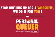 Want a Whopper but don't want to wait? Burger King will queue for you