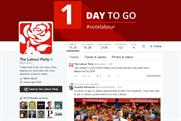 UK election: Labour's Twitter page