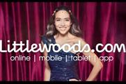 Littlewood: uses Myleene Klass in its ads