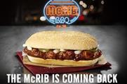 McDonald's: elusive McRib returning on 31 December