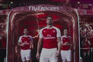 Puma: in its second year of £30m Arsenal sponsorship