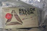 Reebok: sending packages of bacon to US athletes