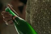 Glitzy revellers quaff lager to celebrate Stella Artois' Christmas birthday