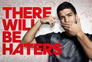 Adidas: Luis Suarez featuring in the brand's recent provocative campaign